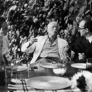 Trīs personības. E.Neumans, K.G.Jungs un M.Eliāde.